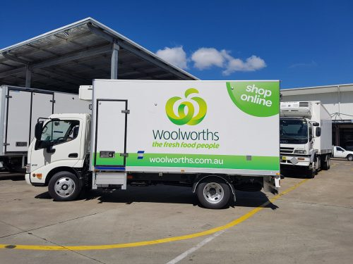 Australian Fast Signs-Woolworths- vehicle graphics