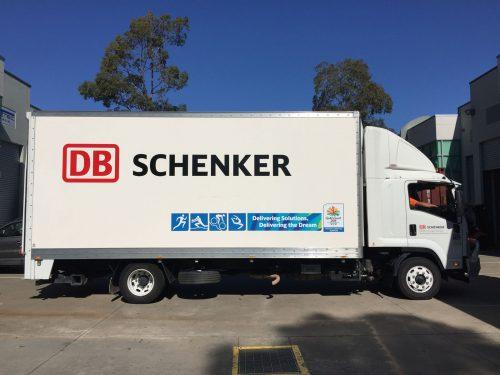 Australian-Fastsigns-Schenker-fleet graphic signage