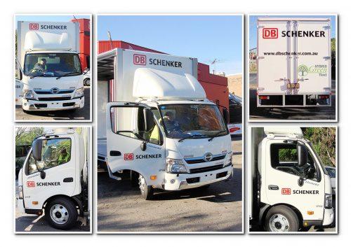 Australian-Fastsigns-Schenker green fleet